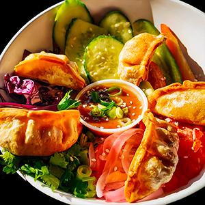 Dumpling au porc et kimchi